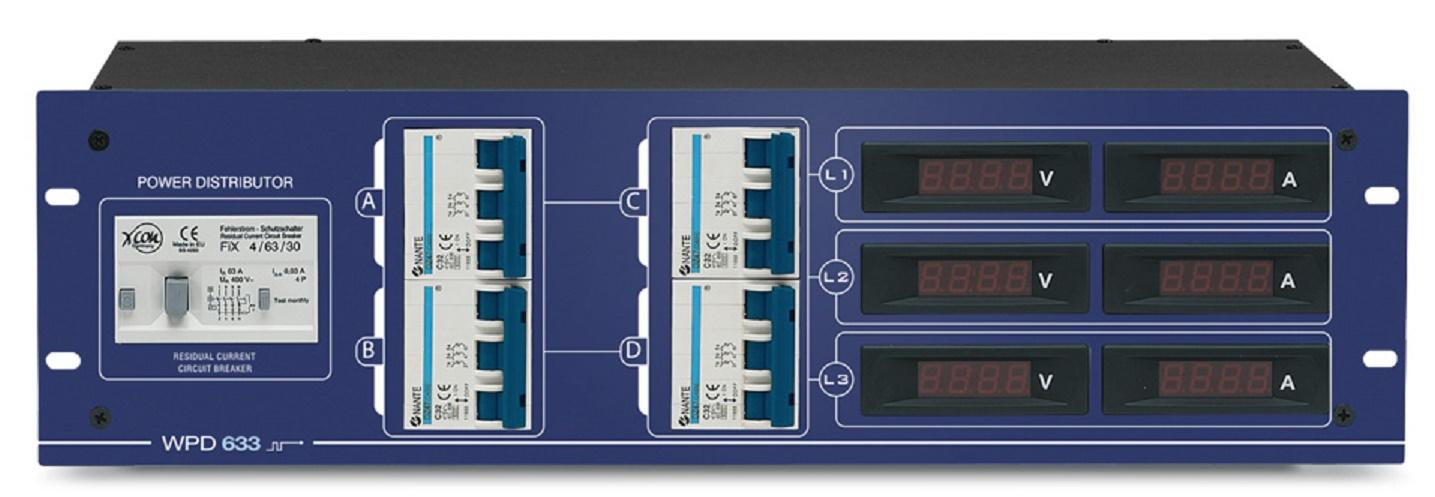 Work Wpd 633 Distribuidor de Corriente