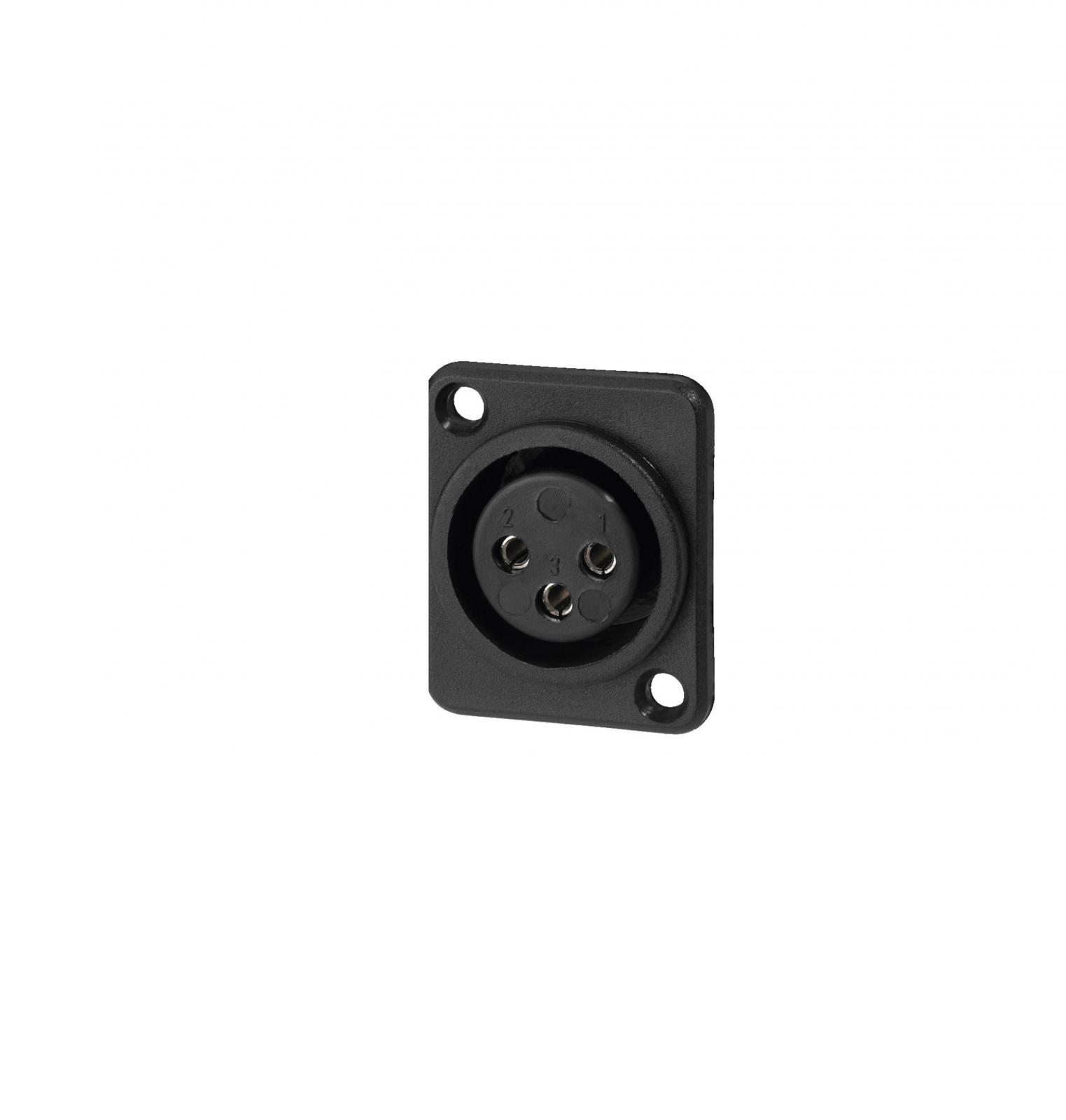 Conector Xlr Chasis Hembra Xlr-508/J
