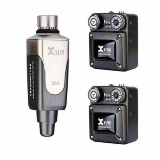 XVive U4 R2 Sistema de Monitor In-Ear Inalámbrico