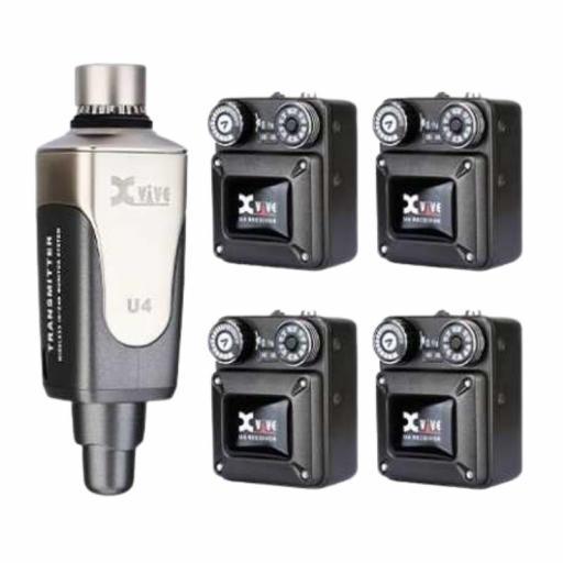 XVive U4 R4 Sistema de Monitor In-Ear Inalámbrico