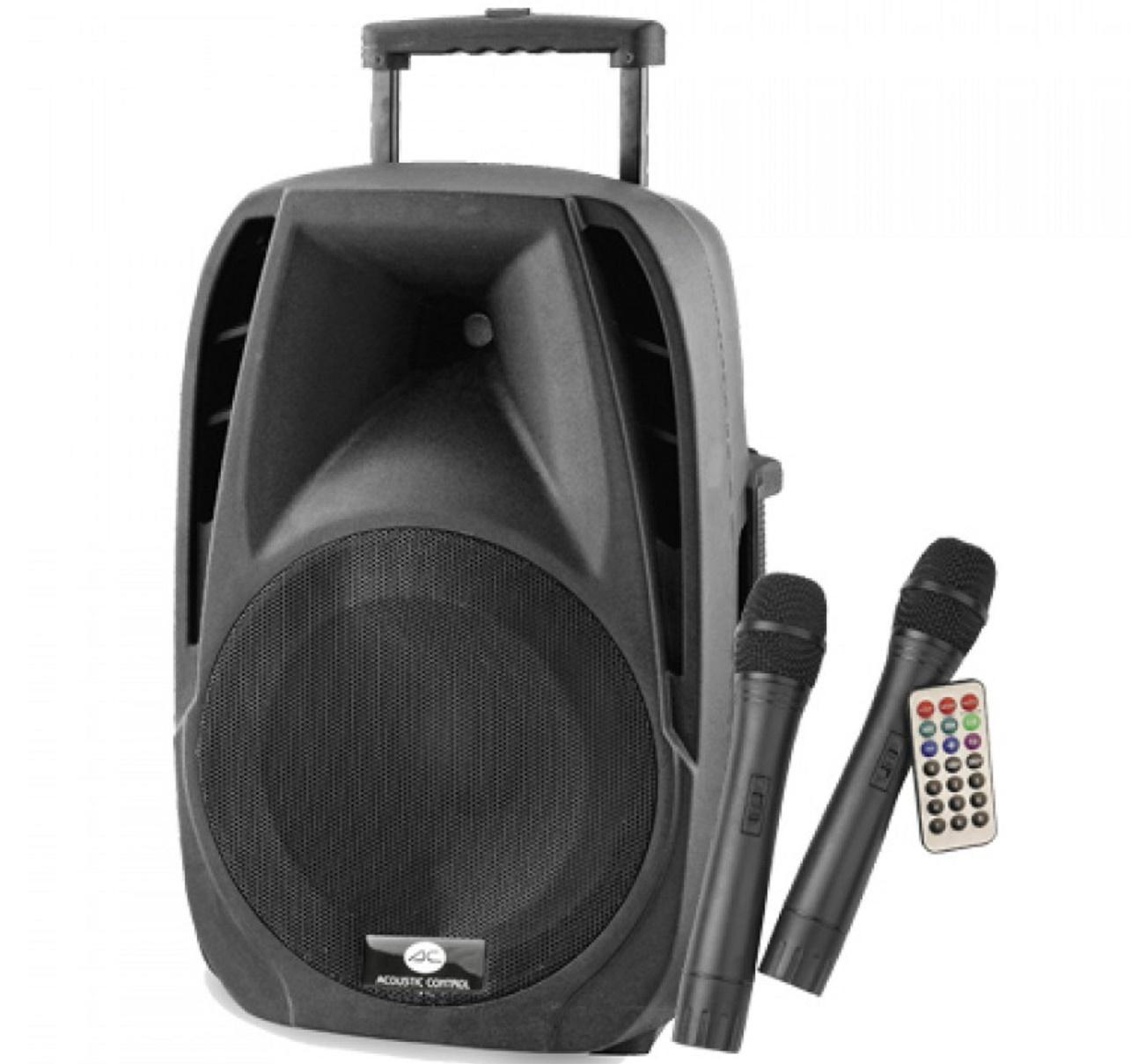 Acoustic Control Portable 15 Sistema de Audio Portátil con Bluetooth