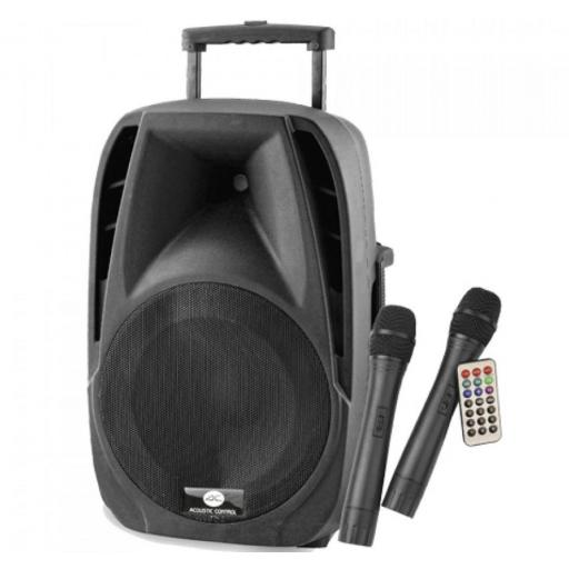 Acoustic Control Portable 15 Sistema de Audio Portátil con Bluetooth [0]