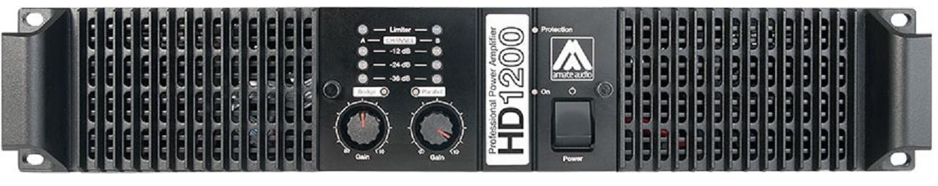Master Audio Hd1200 Etapa de Potencia 2x600 Watios