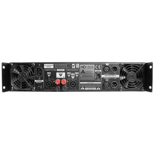 Master Audio Hd1200 Etapa de Potencia 2x600 Watios [1]