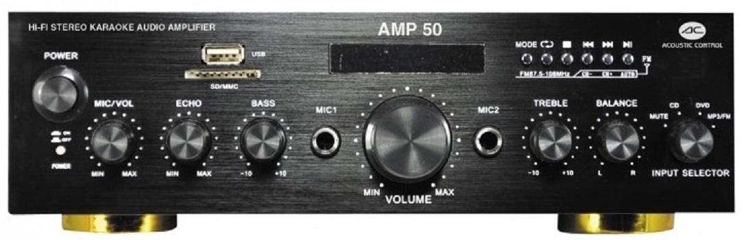 Acoustic Control Amp 50 Amplificador