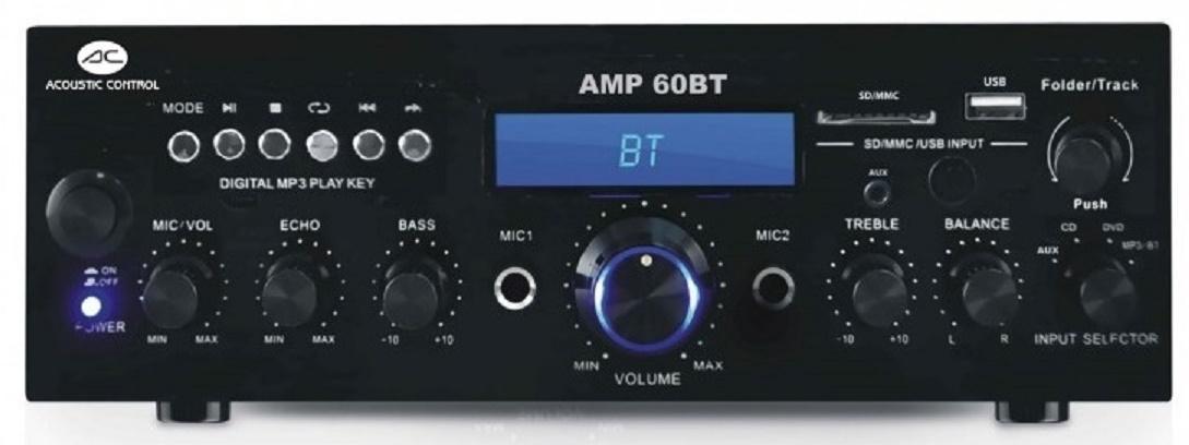 Acoustic Control Amp 60 Bt Amplificador