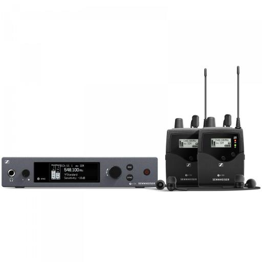 Sennheiser ew IEM G4 Twin Sistema de Monitor In-Ear [0]