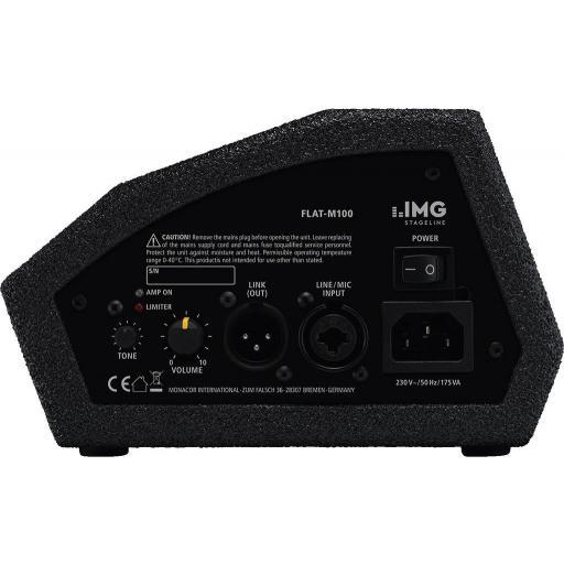 Stage Line Flat-M100 Monitor de Suelo Amplificado [1]
