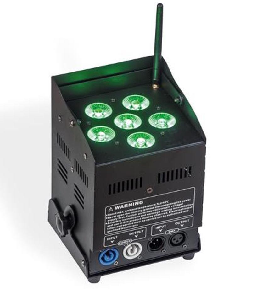ProLight Free Par Pro 72 Black Foco Led a Batería