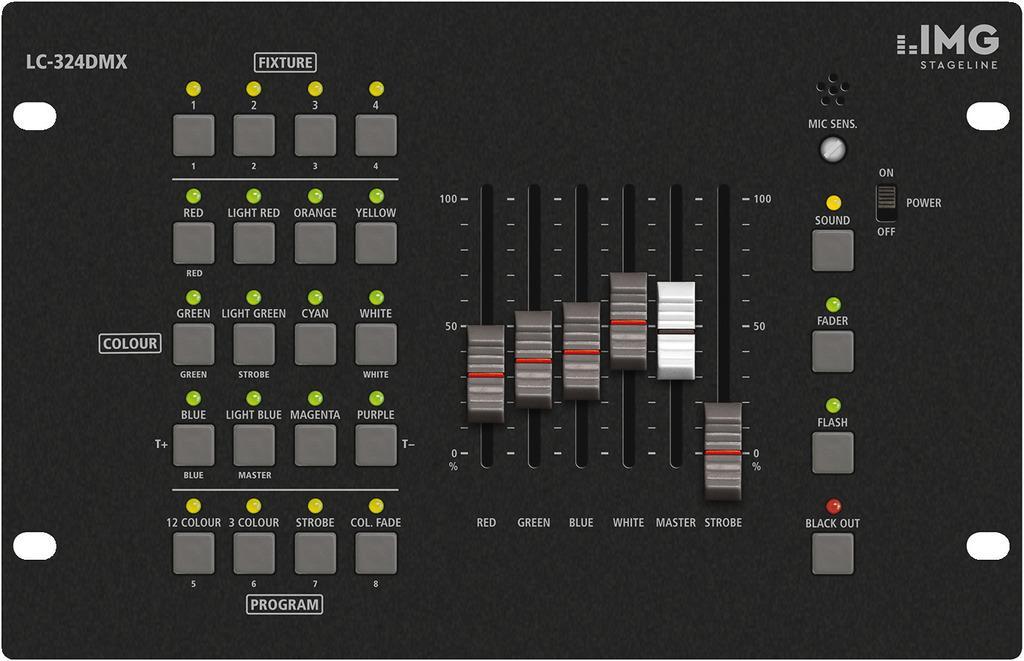 Stage Line Lc-324Dmx Mesa de Iluminación