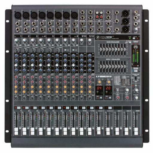 Mackie Ppm1012 Mezclador Amplificado