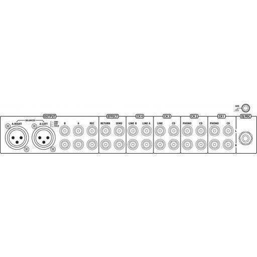 Mezclador Dj Stage Line Mpx-205/Sw [1]