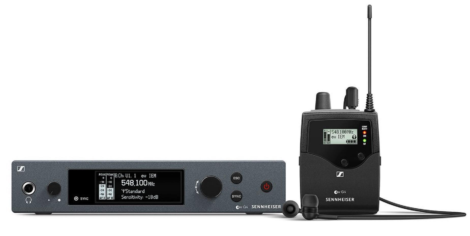 Sennheiser Ew IEM G4 Sistema de Monitor In-Ear