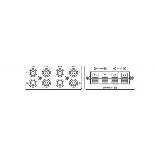Monacor Sa-250/Sw Amplificador/Mezclador Estéreo [1]