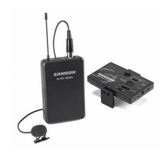 Samson Go Mic Mobile Lavalier System Sistema Inalámbrico de Petaca