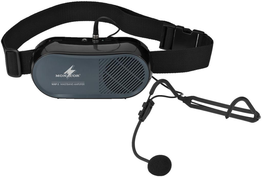 Monacor Wap-5 Sistema de Audio Portátil