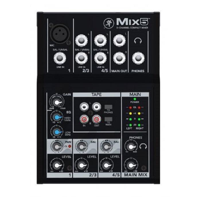 Mackie Mix5 Mesa de Mezclas