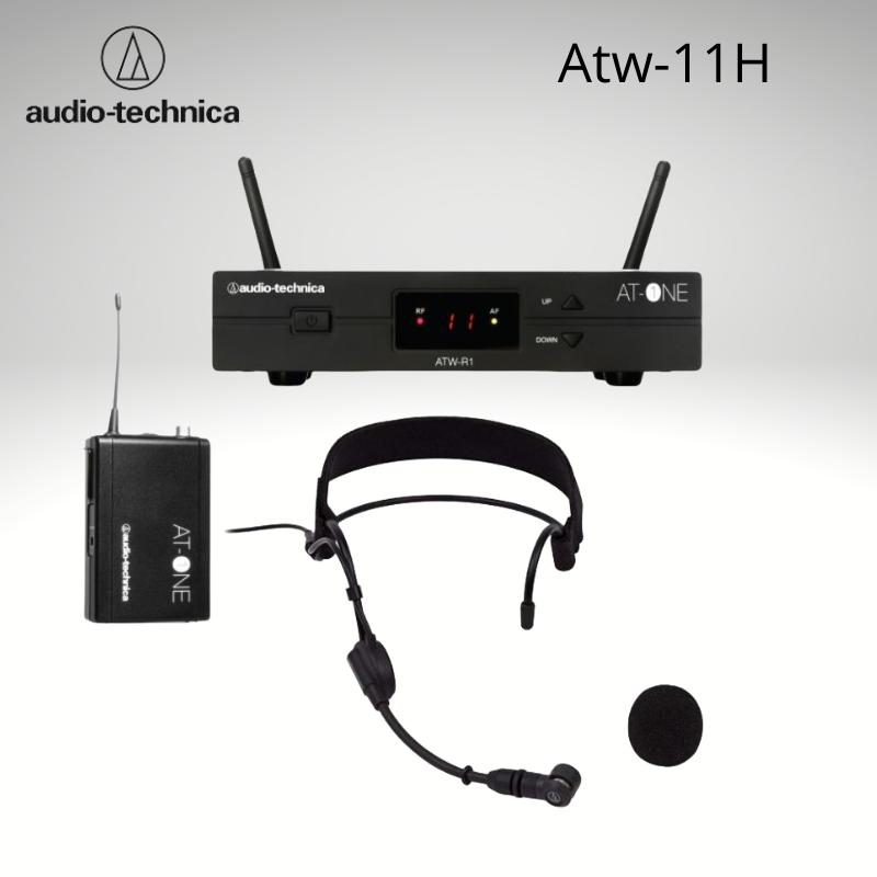 Audio Technica Atw-11H Sistema Inalámbrico con Micrófono de Cabeza