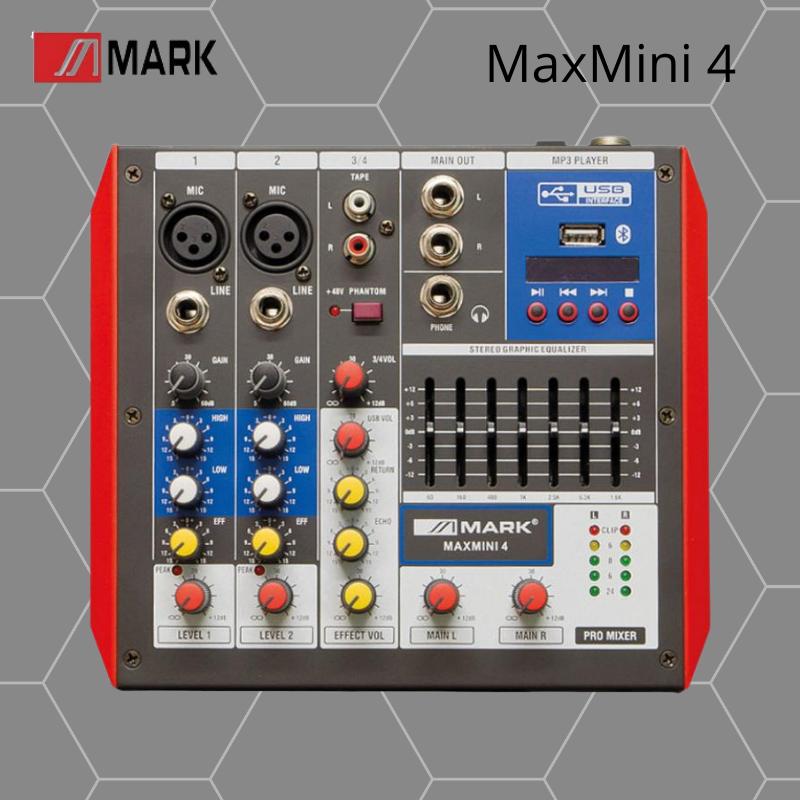 Mark MaxMini 4 Mesa de Mezclas