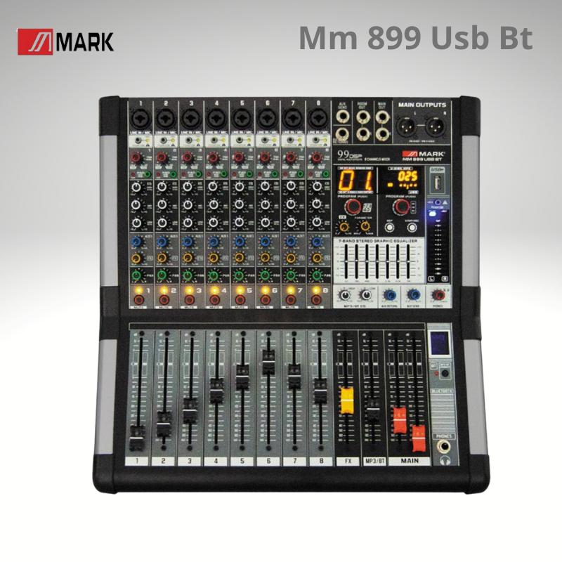Mark Mm 899 Usb Bt Mesa de Mezclas