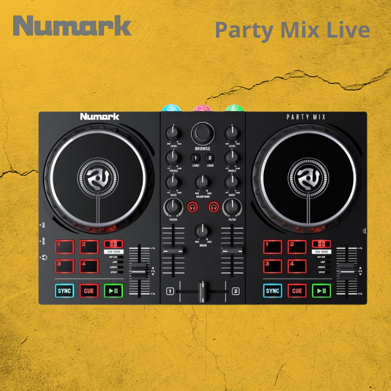 Numark Party Mix Live Controlador Dj