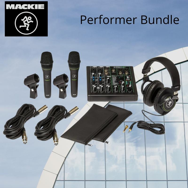 Mackie Performer Bundle Pack de Audio