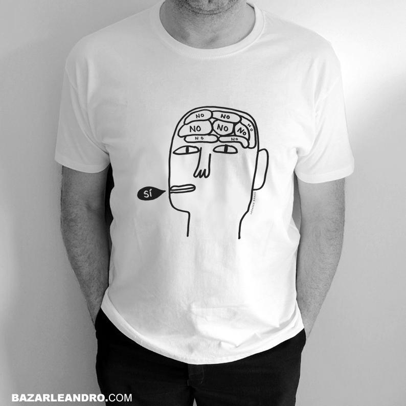 Camiseta blanca SÍ