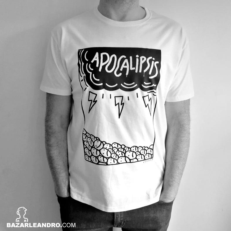 Camiseta blanca APOCALIPSIS