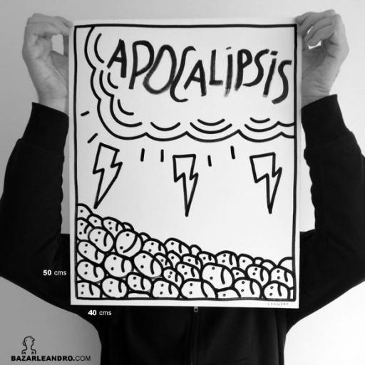 APOCALIPSIS. Ilustración original.