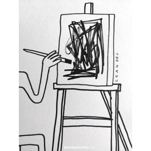 AUTORRETRATO. Ilustración original. [2]