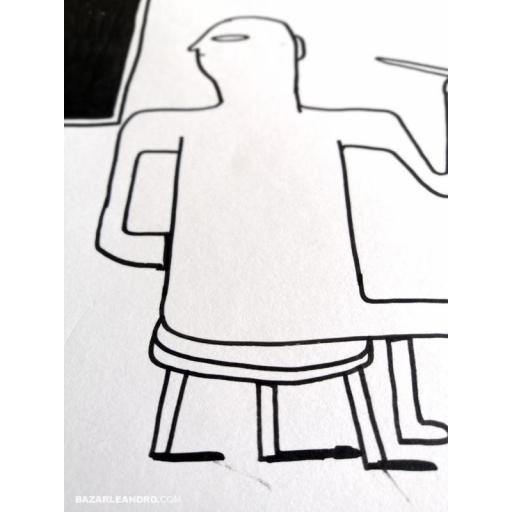 AUTORRETRATO. Ilustración original. [3]