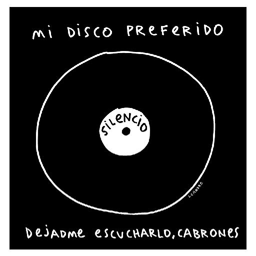 Camiseta negra MI DISCO PREFERIDO [1]