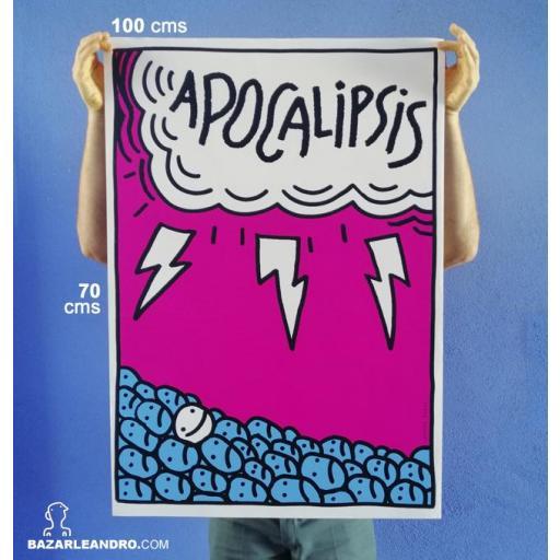 Póster APOCALIPSIS 100 X 70 cms