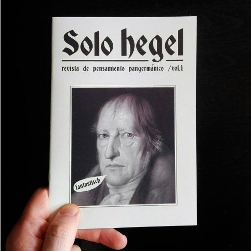 Solo Hegel. Revista de pensamiento pangermánico. [0]