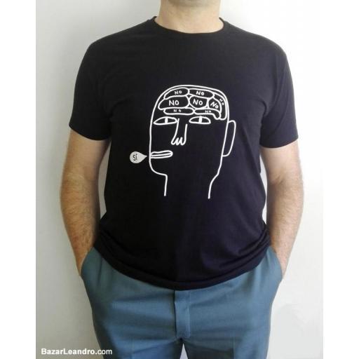 Camiseta negra SÍ [1]