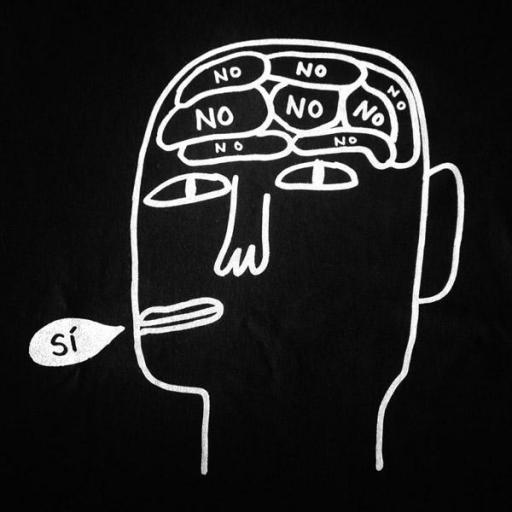 Camiseta negra SÍ [2]