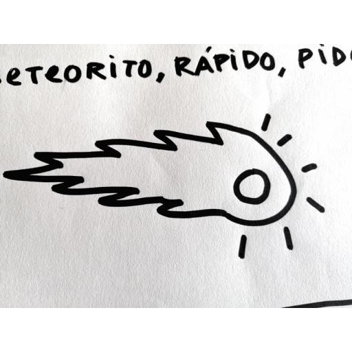 METEORITO. Ilustración original. [2]