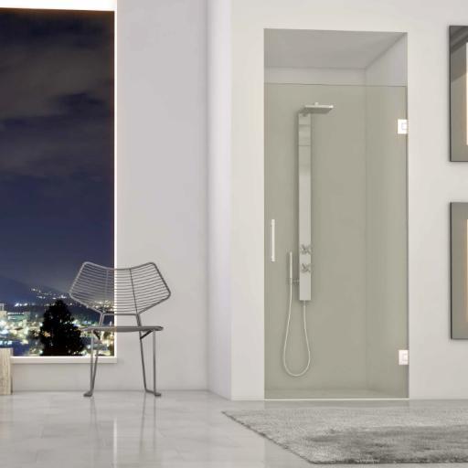 modelo DT, puerta de ducha 180º