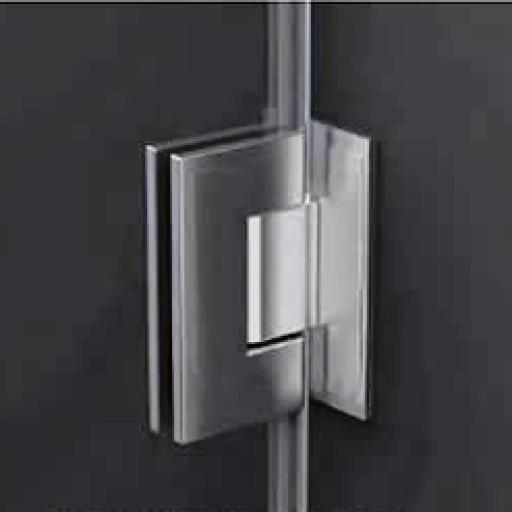 modelo DT, puerta de ducha 180º  [1]