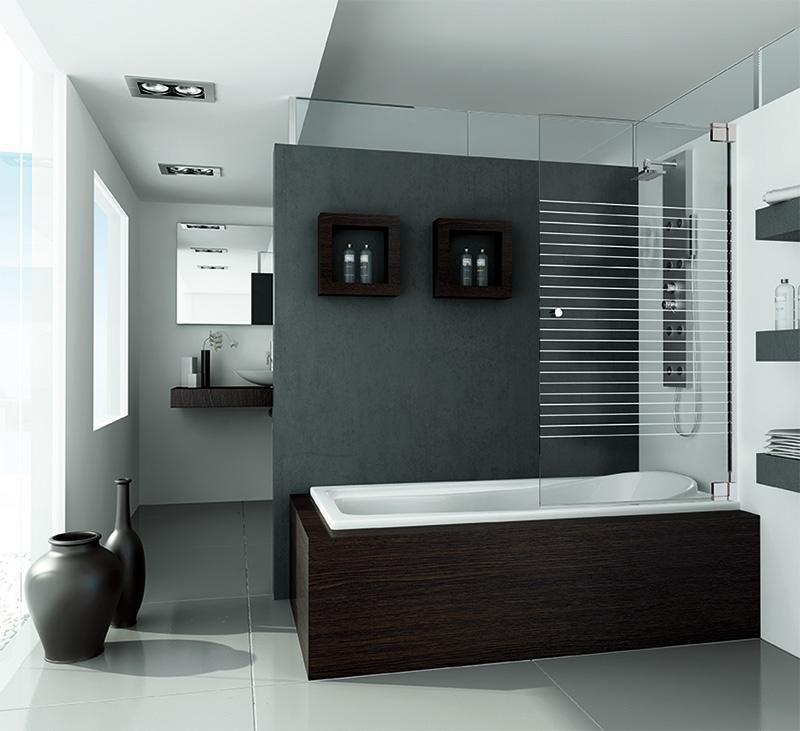 mampara de baño DUBAI PANEL