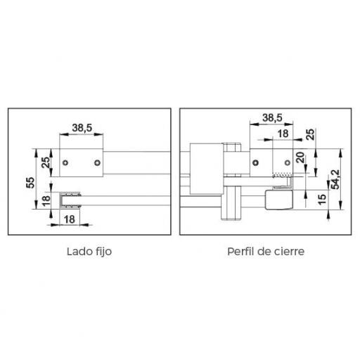 SLIM LM102 ACERO CON LATERAL FIJO [3]