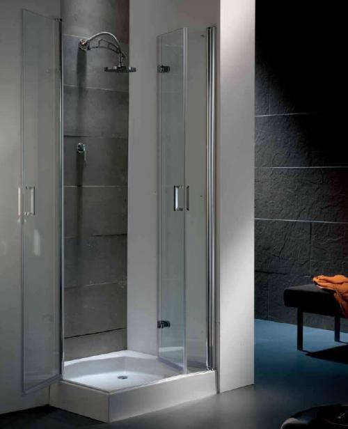 JARAMA ducha, mampara plegable y puerta