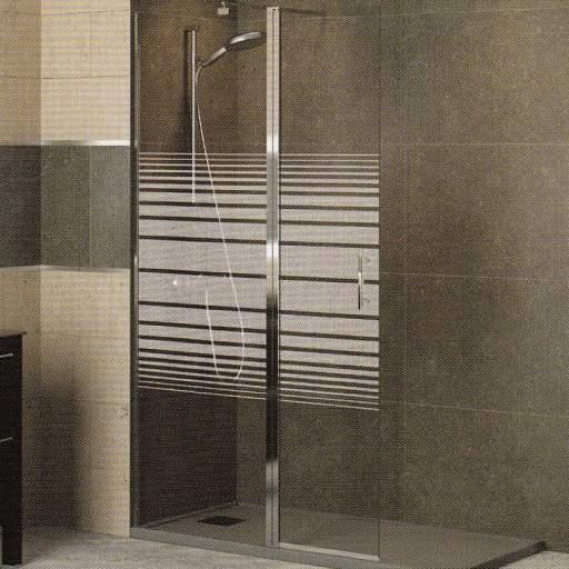 TV MILAN fijo + puerta, mamparas para duchas [2]