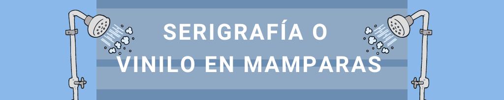 Descubre las diferencias entre serigrafía y vinilo en mamparas