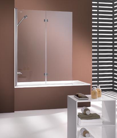 HUP 308 mampara bañera plegable