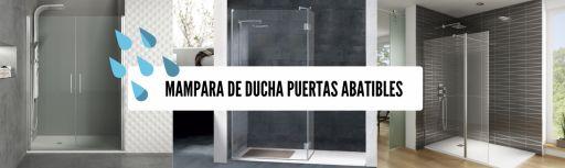 Mamparas de ducha puertas abatibles