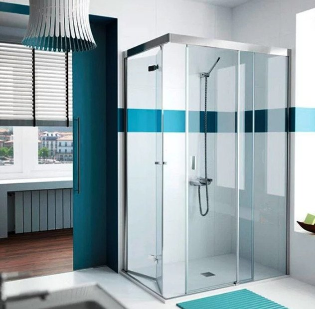 mampara ducha angular 70x70