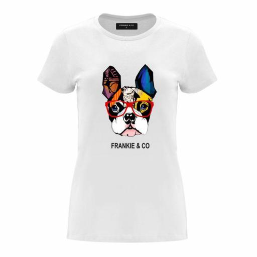Camiseta de mujer Bulldog Francés