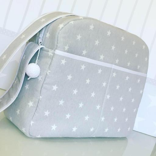 Bolso de Carro para bebé, Grey Star [0]