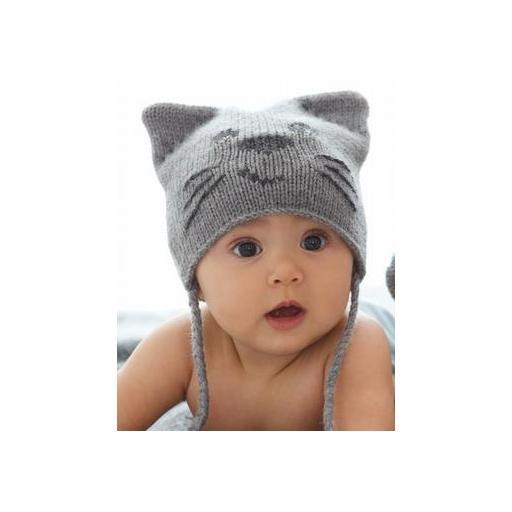 GORRO GATITO Y PATUCOS Modelo BABY CAT.